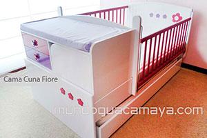 cama cuna fiore cama cuna para beb