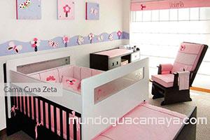 Cama Cunas para bebs Guacamaya Diseo Interior