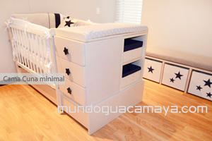cama cuna minimalista cama cuna para beb