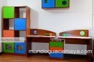 escritorio duo escritorios para nios y nias